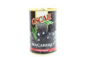 Маслины с косточкой Oscar ж/б 425г