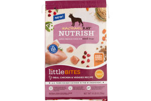 Rachael Ray Nutrish Natural Food For Small Dogs Little Bites