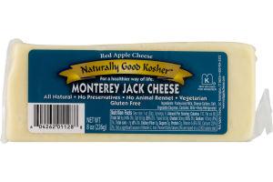 Red Apple Cheese Naturally Good Kosher Cheese Monterey Jack