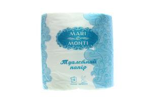 MARI e MONTI папір туалетний 4шт білий