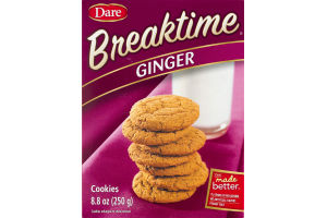 Dare Breaktime Ginger Cookies