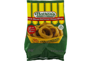 Nathan's Battered Onion Rings Thick Sliced