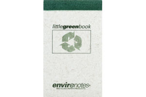 Environotes Little Green Book - 60 Sheets