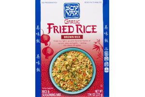 Soy Vay Brown Rice Garlic Fried Rice