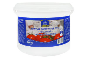 Кетчуп 21% Томатний Horeca Select відро 3 кг