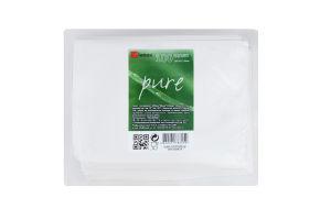 Пакет бумажный 200х40х230мм Pure Інпак 100шт