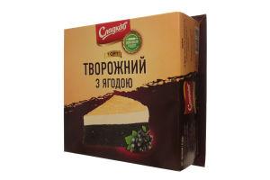 Торт Творожный с ягодой Сладков к/у 800г