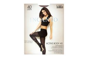 Колготки жіночі Incanto Active Body 40den 3-M naturel