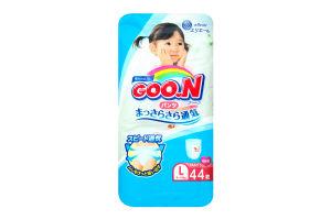 Трусики-підгузники Goo.N для дівчаток 9-14 кг розмір L 753713
