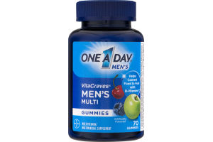 One A Day Men's VitaCraves Multivitamin Gummies - 70 CT