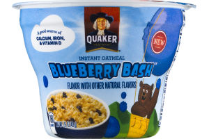Quaker Instant Oatmeal Blueberry Bash