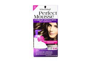 Краска-мусс для волос Морозный мокко №536 Perfect Mousse