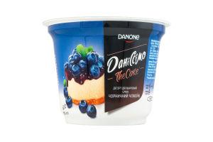Десерт 6% двухслойный Черничный чизкейк Даніссімо ст 230г