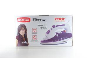 Праска Rotex RIC22-W Фіолетовий 625847