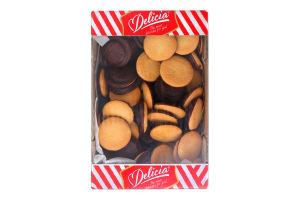 Печиво здобне збивне зі смаком апельсину Деліція кг