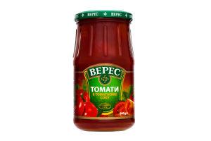 Томати у томатному соку Верес с/б 800г