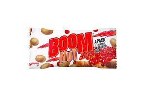Арахіс смажений солоний зі смаком червоної ікри Boom Nut м/у 30г