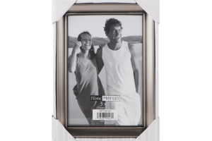 Home Profiles 5x7 Silver Picture Frame