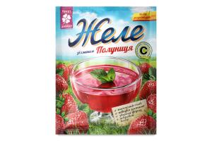 Желе со вкусом клубники ЦветАромат м/у 90г