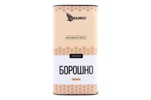 Борошно пшеничне покращеної якості Premium Hangu тубус 700г