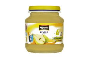 Пюре для детей от 4мес Яблоко и груша Hame с/б 125г