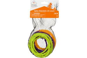 Smart Living Halloween Spiky Bracelets - 20 CT
