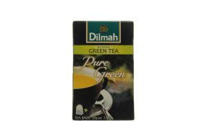 Чай зеленый Dilmah Green Pure