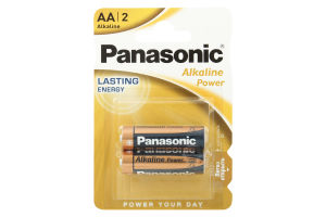Батарейка LR03 Alkaline Power Panasonic 1*2шт