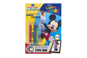 Disney Color And Play With Stickers Mickey Mouse Clubhouse