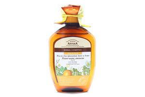 Масло для ванн и душа Иланг-иланг и Апельсин 3в1 Зеленая аптека 250мл