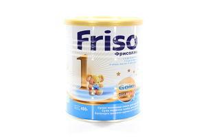 Смесь Фрисолак 1 Gold сухая молочная 0-6мес Friso ж/б 400г