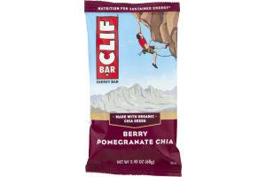 Clif Energy Bar Berry Pomegranate Chia