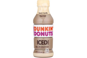Dunkin' Donuts Iced Coffee French Vanilla