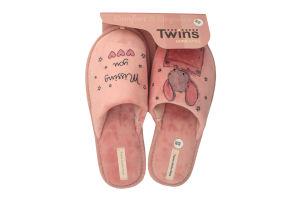 Тапочки домашние женские №3816 Twins 38-39
