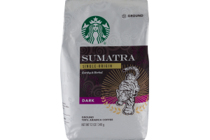 Starbucks Sumatra Dark Ground Coffee