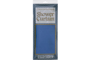 "Royal Crest Home Products Shower Curtain Shells Vinyl 70"" x 72"""