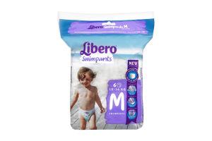 Підгузки дитячі 10-16кг Swimpants Libero 6шт