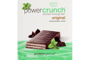 Power Crunch Protein Energy Bar Original Chocolate Mint - 12 CT