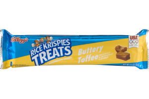 Kellogg's Rice Krispies Treats Buttery Toffee