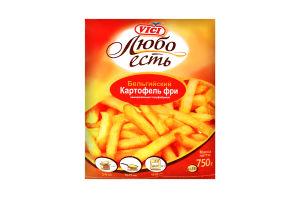 Картофель фри Бельгийский Vici м/у 750г