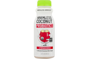 Harmless Harvest Harmless Coconut Probiotics with Strawberries