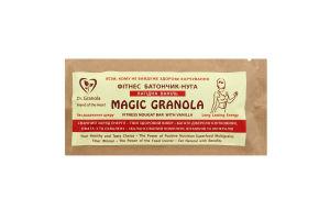 Фітнес Батончик-нуга «Лагідна Ваніль»Magic granola 35 г