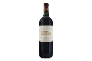 Вино 0.75л 13% червоне сухе Chateau Margaux пл