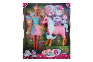 Набір ляльковий для дітей від 3років №5733313 Welcome Unicorn Steffi Love Simba 1шт