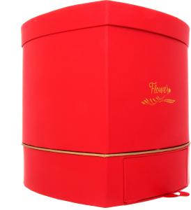Коробка флористическая Премиум в ассортименте