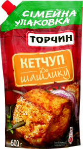 Кетчуп Торчин до шашлику 600г
