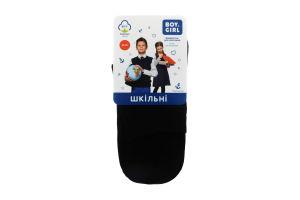 Шкарпетки дитячі Boy&Girl №411 22-24 чорний