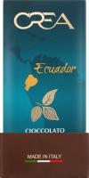 Шоколад екстра чорний Ecuador Crea к/у 100г