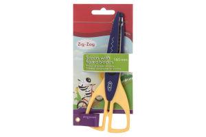 Ножницы с фигурными лезвиями №ZB.5020-02 Zig-Zag Zibi 1шт