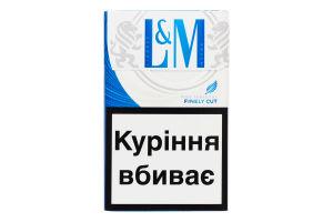 Сигареты с фильтром Blue Label L&M 20шт